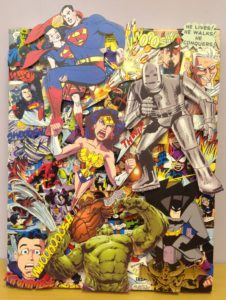 3D Comic Canvas by David Mercer