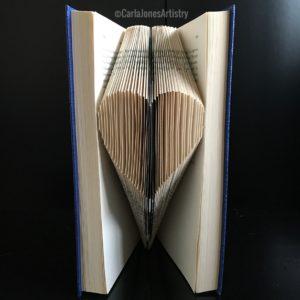 Folded Heart by Carla Jones