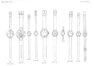 Watches by Adrian Ko