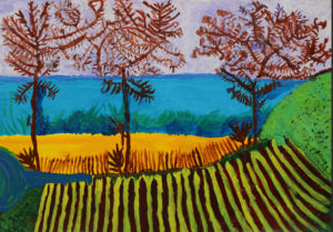 Trees and Fields by Maurice Wilson