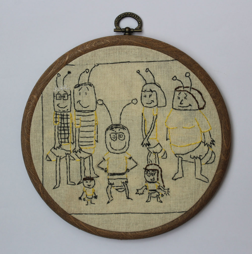 """29167    4736    """"My family as bees""""    If you intend to put this work up for sale    7377"""