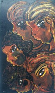 5 Heads by Elzbieta Harbord