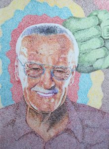 Stan Lee and The Hulk by Aardvark