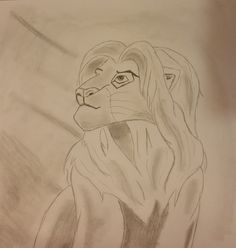 Adult Simba from the lion king by Jade's Gallery