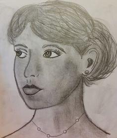 lady looking portrait by Jade's Gallery