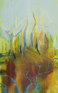 sweltering summer in the vines by Bridget Gladwin