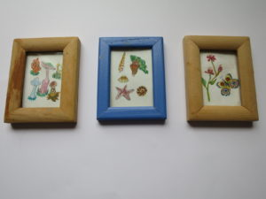 Tiny  Pictures for family by Romilly Jardine