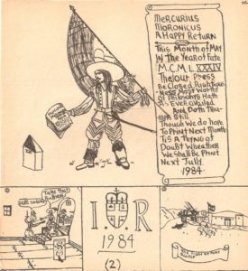 8. Mercurius Moronicus No. 13 (May 1984) by Charles Devus