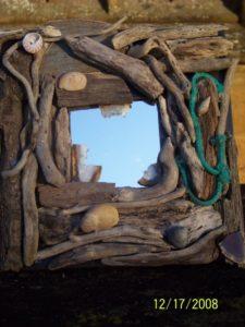 Driftwood Mirrors by Tim Essex