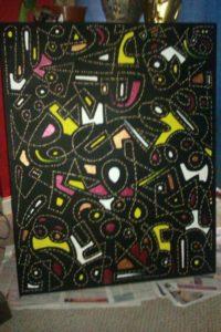 Pompey Aboriginal black by dP