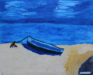 Boat by Maurice Wilson