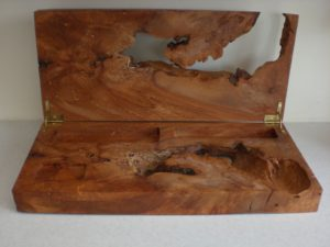 Burr and spalted beech box. by Sue Burbidge