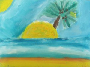 Island at Sea by Georgina Connolly