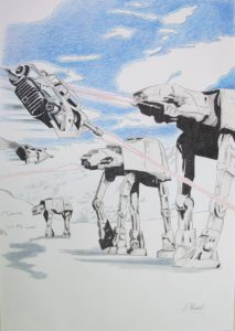 Battle for Hoth by David Hunt