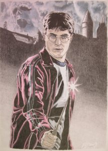 Harry's Wand by David Hunt