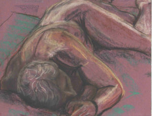 Man Laying Down by John Exell