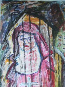 Nun 1 by Elzbieta Harbord