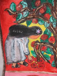 Nun and Apples by Elzbieta Harbord