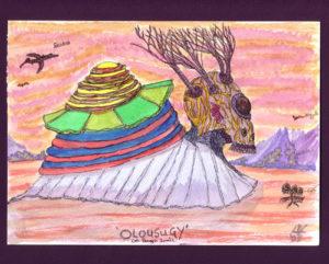 Olousugy-(dragon-snail) by Lillian D French