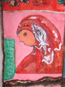 Red Nun by Elzbieta Harbord