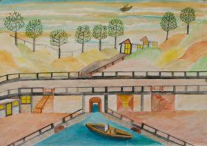 River Lake by Barrington G