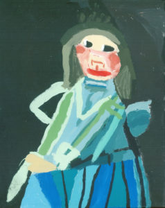 Girl in Blue by Susan Street