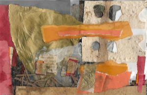 Mixed media collage 10 by jess levine