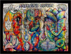 Abbraccio Cosmico by Howard B. Johnson Jr.
