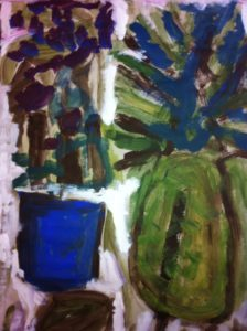 Abstract Still life by Ronnie Mitchell