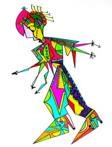 80s figure by tootan plutan