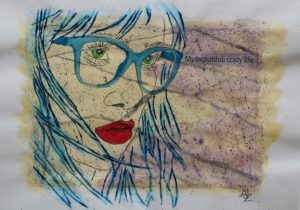 Geek Girl by Adz