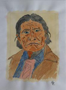 Geronimo – 1898 by Adz