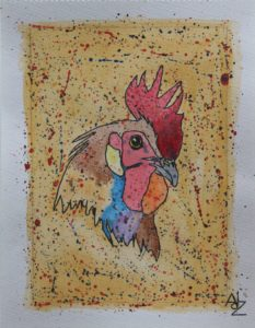 Rooster by Adz