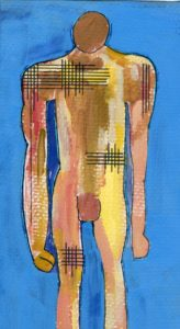 After Keith Vaughan's Standing Figure – Kouros No.5 by SeaSideSean