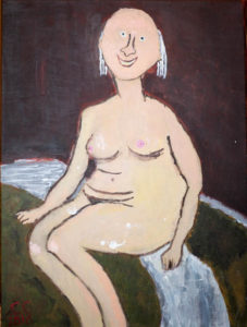 Afterwards. After Modigliani.X by Colin Cameron