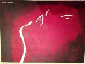 agony_or_ecxtasy_30x40cm___150__acrylic_on_canvas__2_ by Malcolm Darling