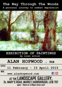 Exhibition poster by Alan Hopwood