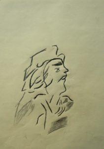 Portrait of a Woman by Alan Barden