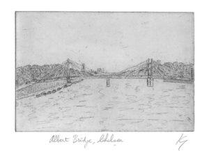 Albert Bridge by Ken Gowers