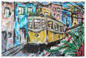 Alfama Lisboa by John Pipere