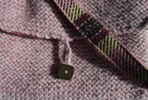 Detail of Miss Pink by Ali Cruickshank