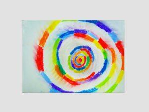 Rainbow Swirl by Alice Fletcher