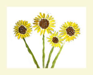 Sunflowers by Alice Fletcher
