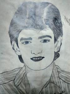 Amir Khan in 90s by Sandeep Kumar Mishra