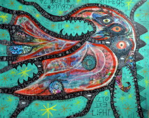 an_ode_to_nocturnal_critters__into_the_light_ by greg bromley
