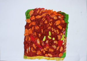 Baked Beans on Toast by Andrew Young