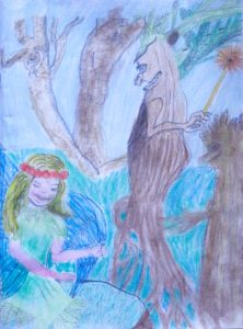 The Trees Came Alive by Angela Coe