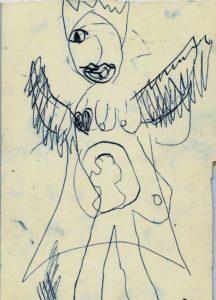 Angel baby by Elen Fran Wen
