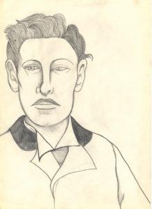 Male Portrait by anne brady