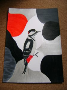 Woodpecker by Anne Elliott